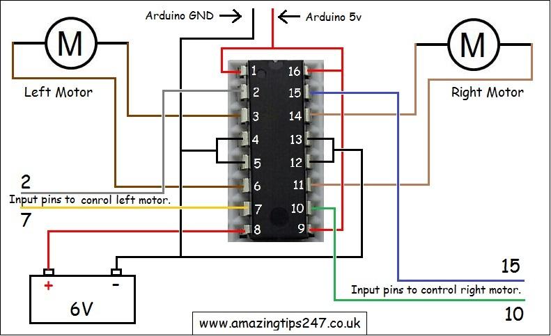 L293d Motor Driver Arduino  U2abb Amazing Tips247