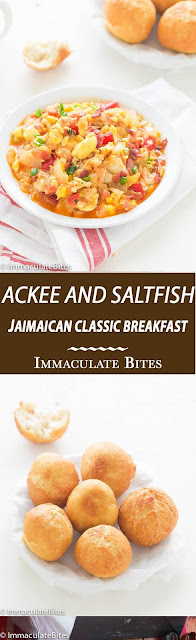 Jamaícan Ackee and Saltfísh