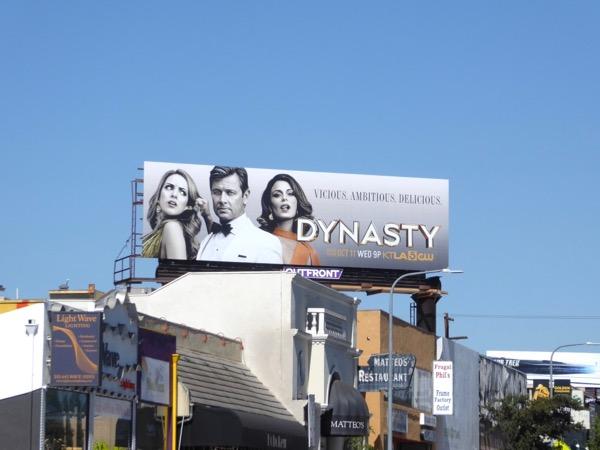 Dynasty 2017 remake billboard