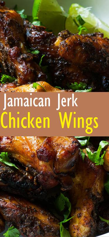 Easy Jamaican Jerk Chicken Wings Recipe