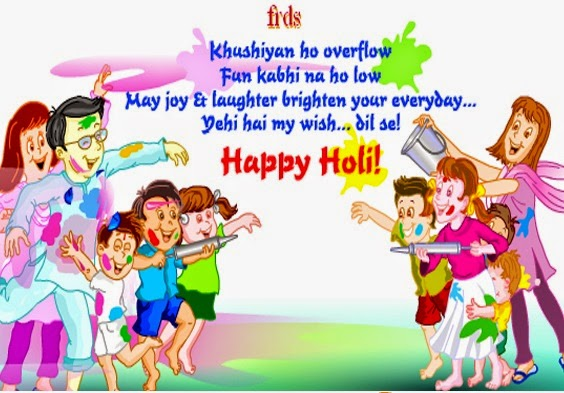 Happy Holi Wishes, Quotes, Messages in Hindi English