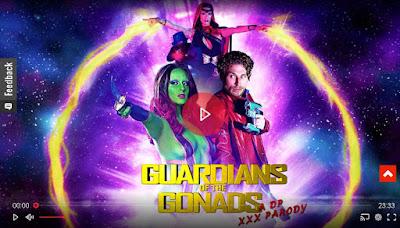 Guardians of The Gonads A DP XXX Parody