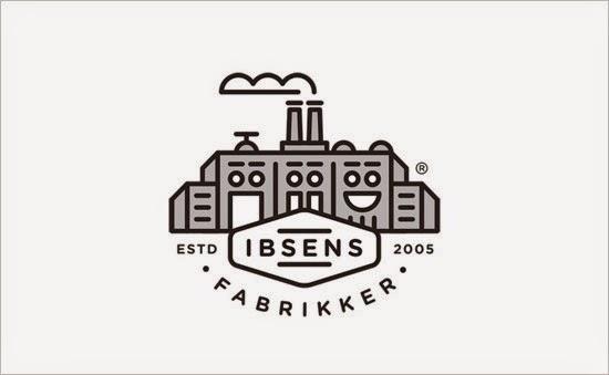 Bold & Thin line Logo Ibsens