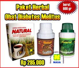 Paket Herbal NASA Untuk Penyakit Diabetes