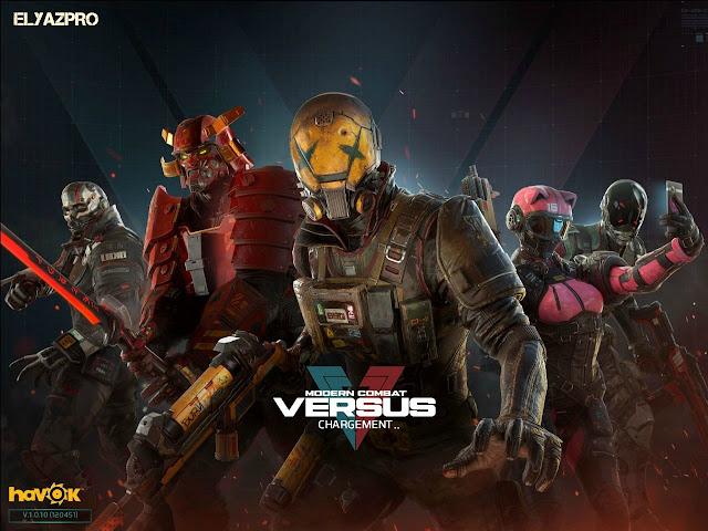 تحميل لعبة Modern combat versus for android للاندرويد
