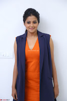 Priyamani in Beautiful Short Deep neck Orange Dress ~  Exclusive 19.JPG
