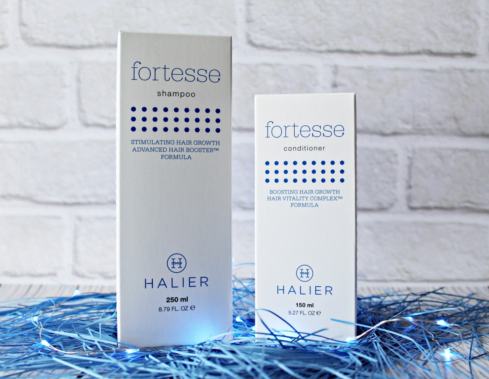 Halier Fortesse - wzmocnij i odbuduj swoje włosy
