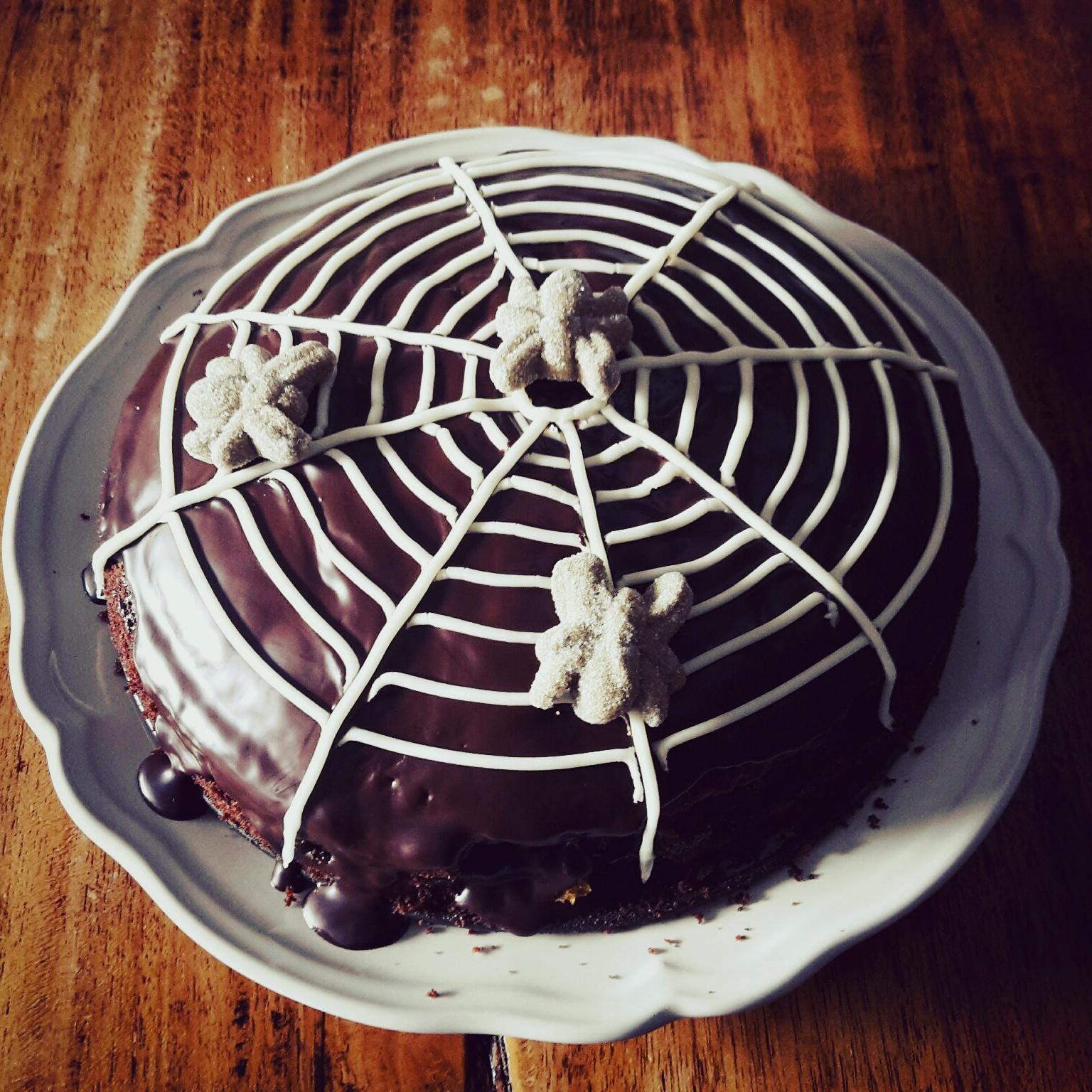 halloween taart maken