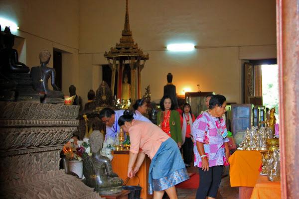 Interior Ho Phra Keo Temple
