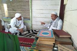 Habib Hanif Alatas Kunjungi Ulama Sepuh Aceh Abu Payah Pasi