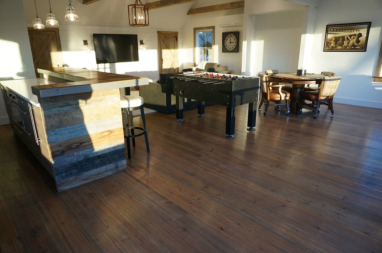 Caribbean heart pine diy heart pine flooring we are actually doing just that when comparing a similar quality prefinished product and certainly a site finished one we do this and solutioingenieria Gallery