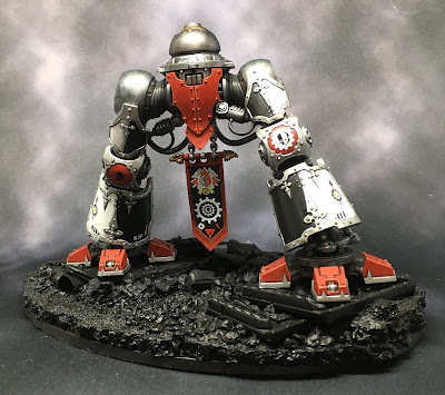 House Taranis Questoris Mechanicus Knight Paladin WIP leg decals
