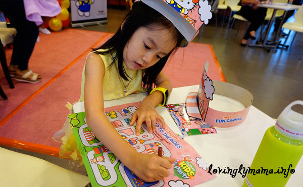 Jollibee Kids Party - activity place mats