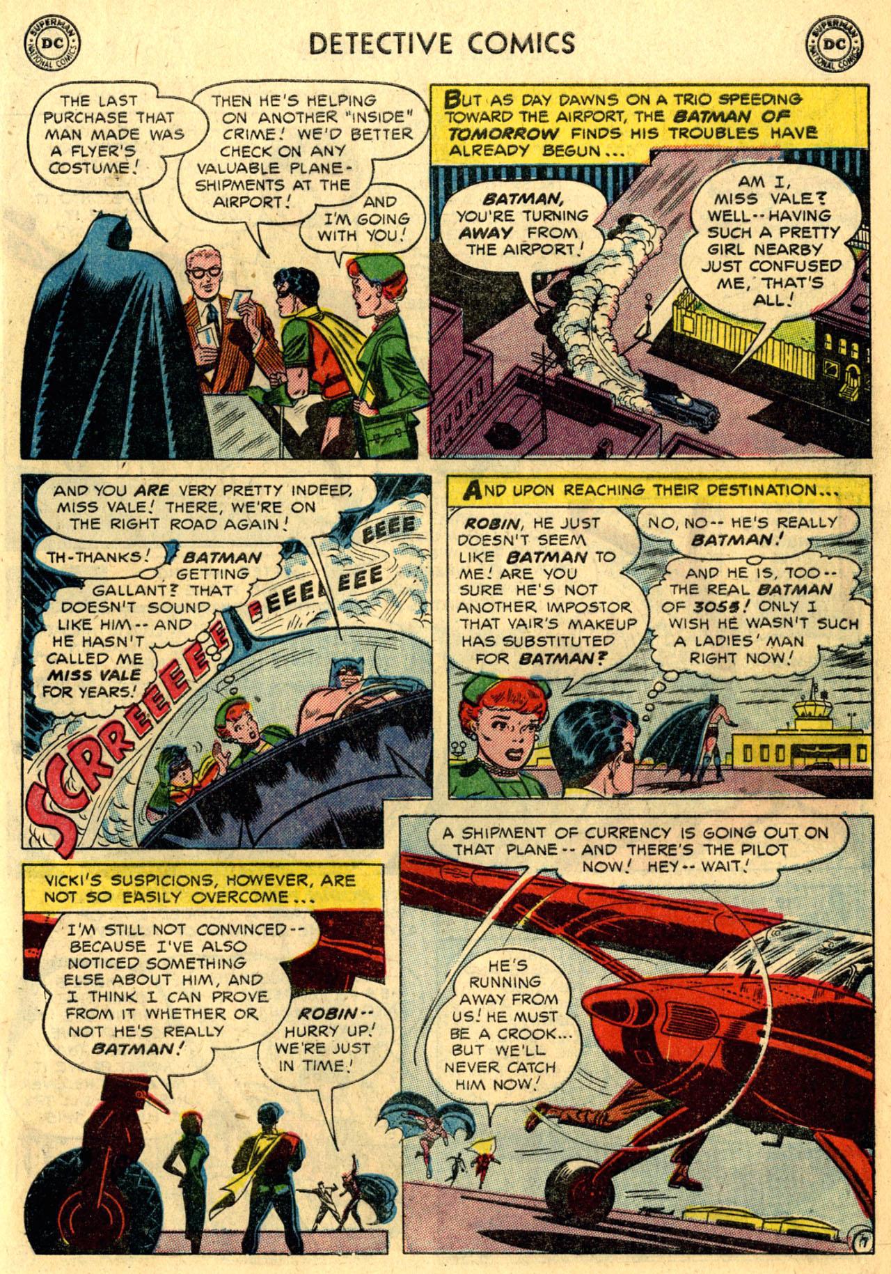 Read online Detective Comics (1937) comic -  Issue #216 - 9