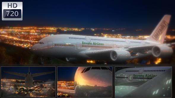 مدونة مشاريع افتر افكت - عرض لوجو على طائرة بشكل احترافي للافتر افكت CS4 فأعلى