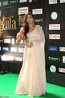 Prajna Actress in backless Cream Choli and transparent saree at IIFA Utsavam Awards 2017 0069.JPG