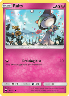 Ralts Burning Shadows Pokemon Card