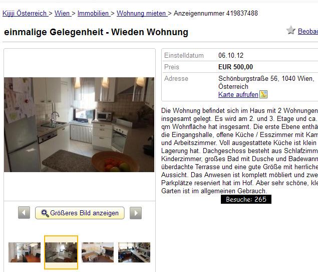 einmalige gelegenheit wieden wohnung sch nburgstra e 56 1040. Black Bedroom Furniture Sets. Home Design Ideas