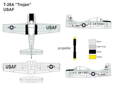 T-28A Trojan USAF