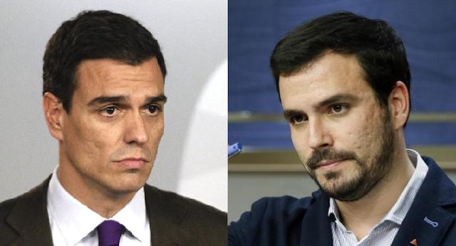 El PSOE retoma negociación con Izquierda Unida sin Ciudadanos
