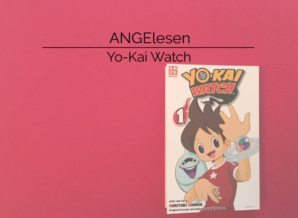 Review zu Manga Yo-Kai Watch