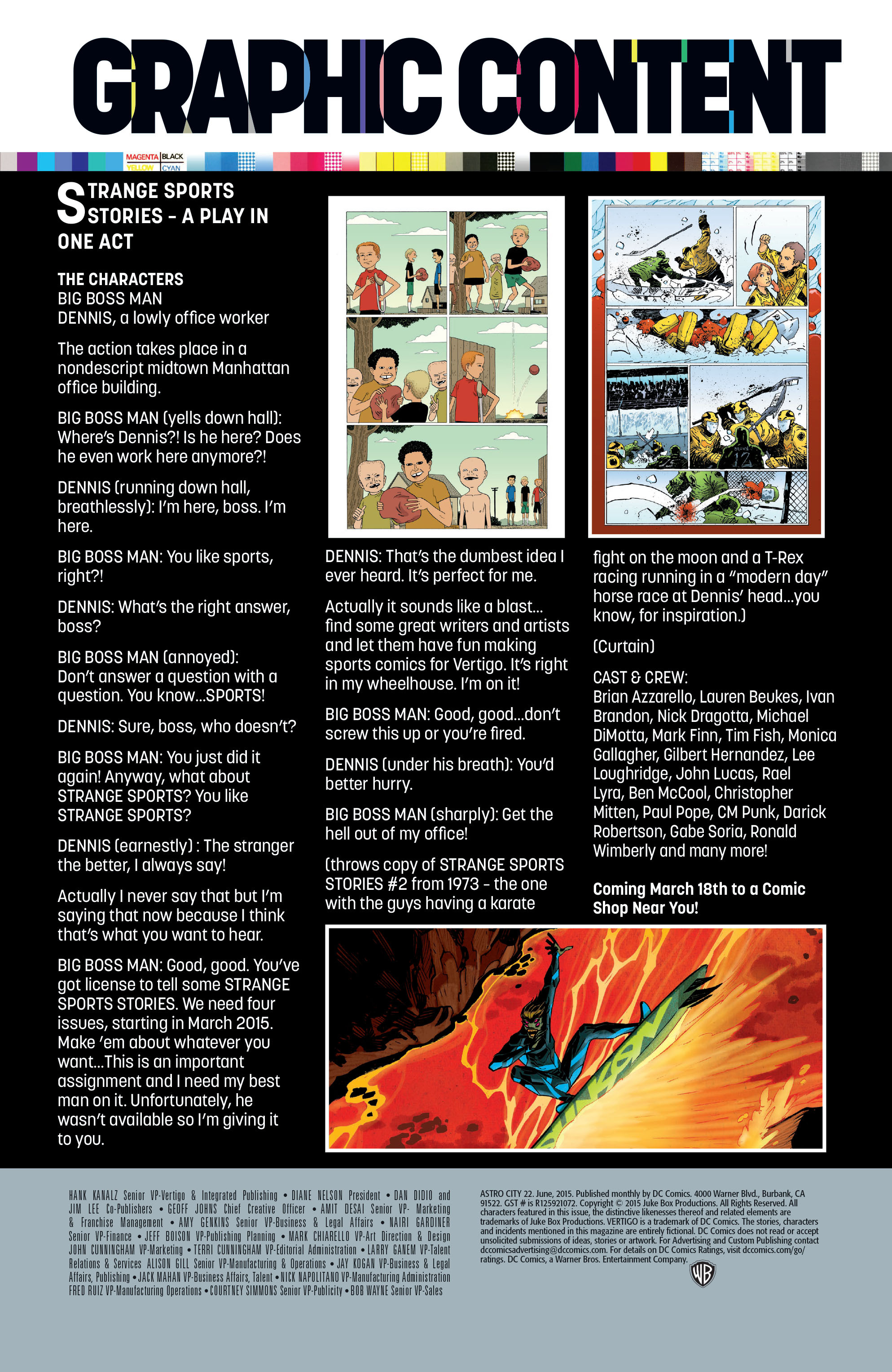 Read online Astro City comic -  Issue #22 - 27
