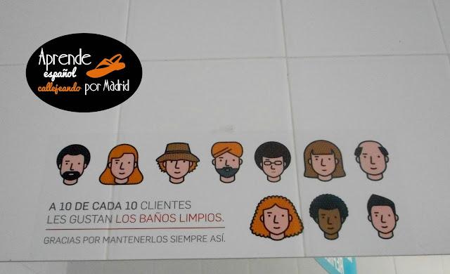 Aprende español callejeando por Madrid. Blog para estudiantes de español.