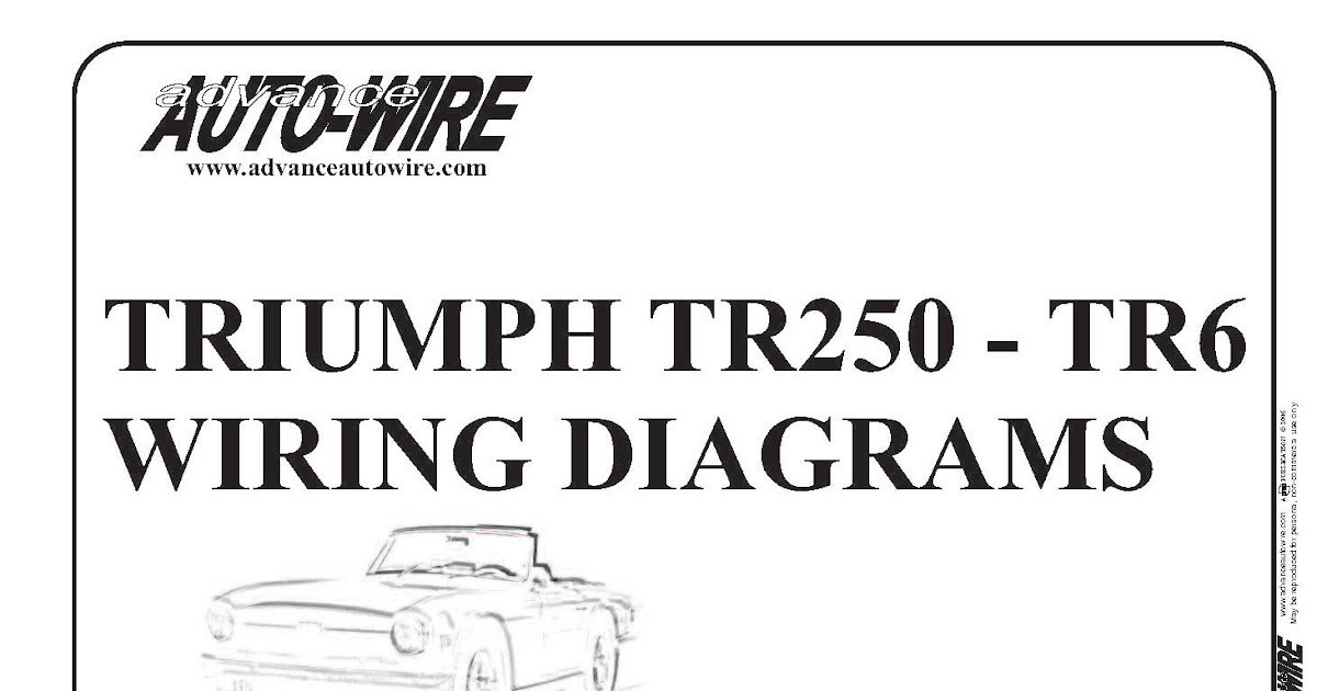 triumph t100 wiring diagram trailer 7 pin 5 wires flat tr250 data vitessesteve blog tr6 diagrams in colour bonneville