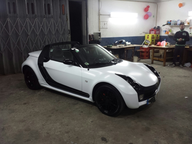 Smart Roadster Tuning