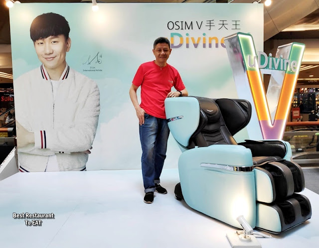 OSIM uDIVINE V MASSAGE CHAIR LAUNCH EVENT