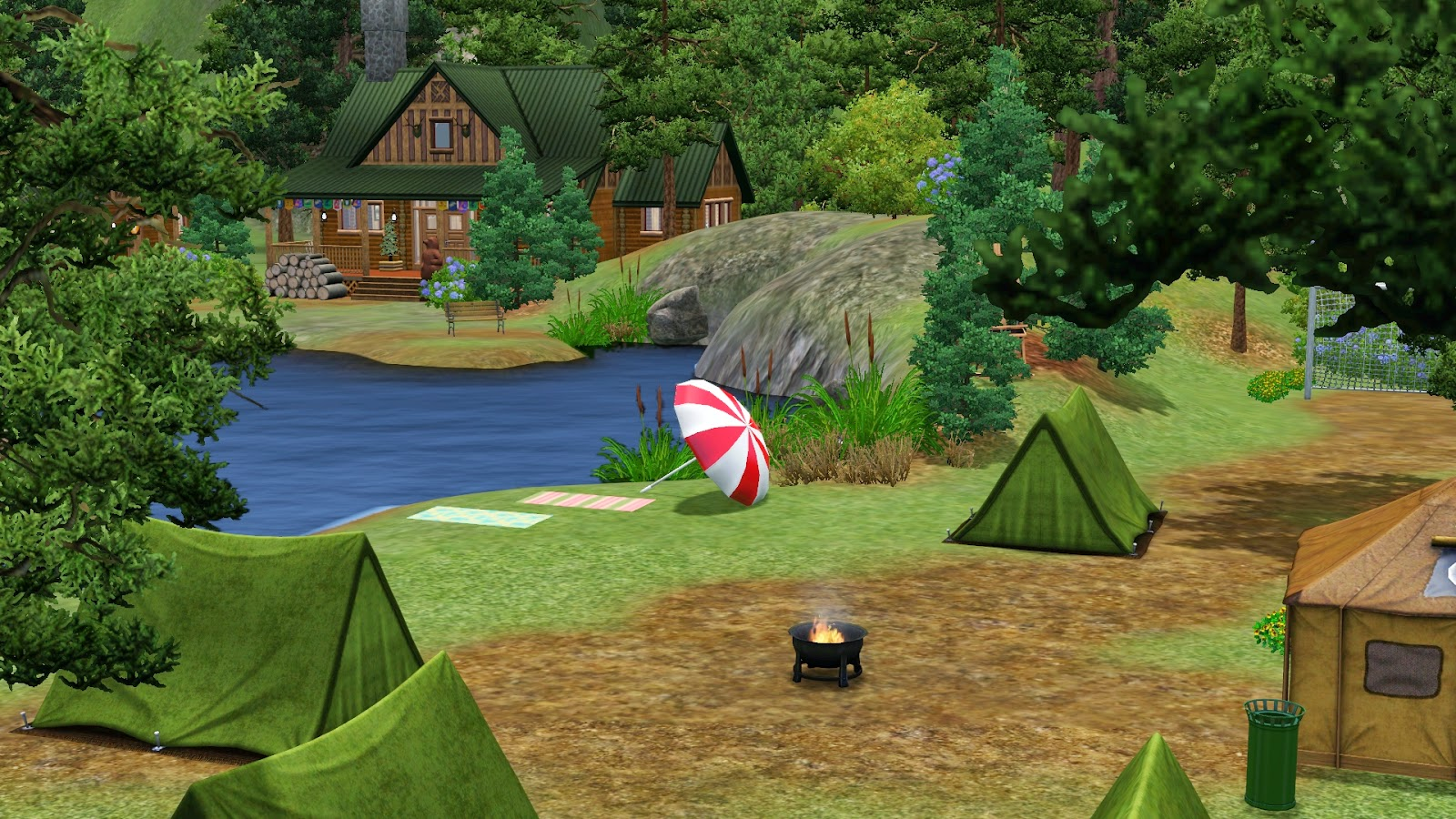4 Camping Simply Ruthless Send Your Sims To Summer Camp At Camp Plumbob