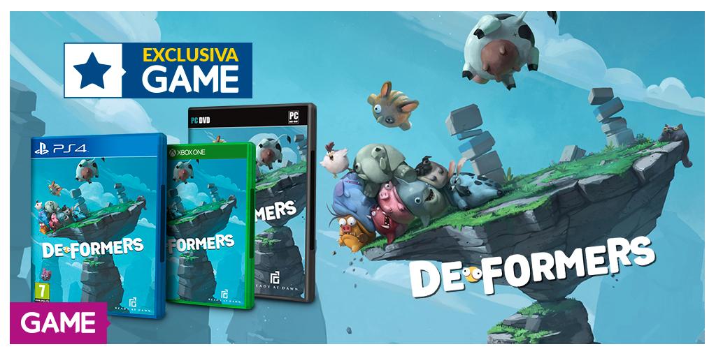DEFORMERS llegará en exclusiva a GAME en formato físico