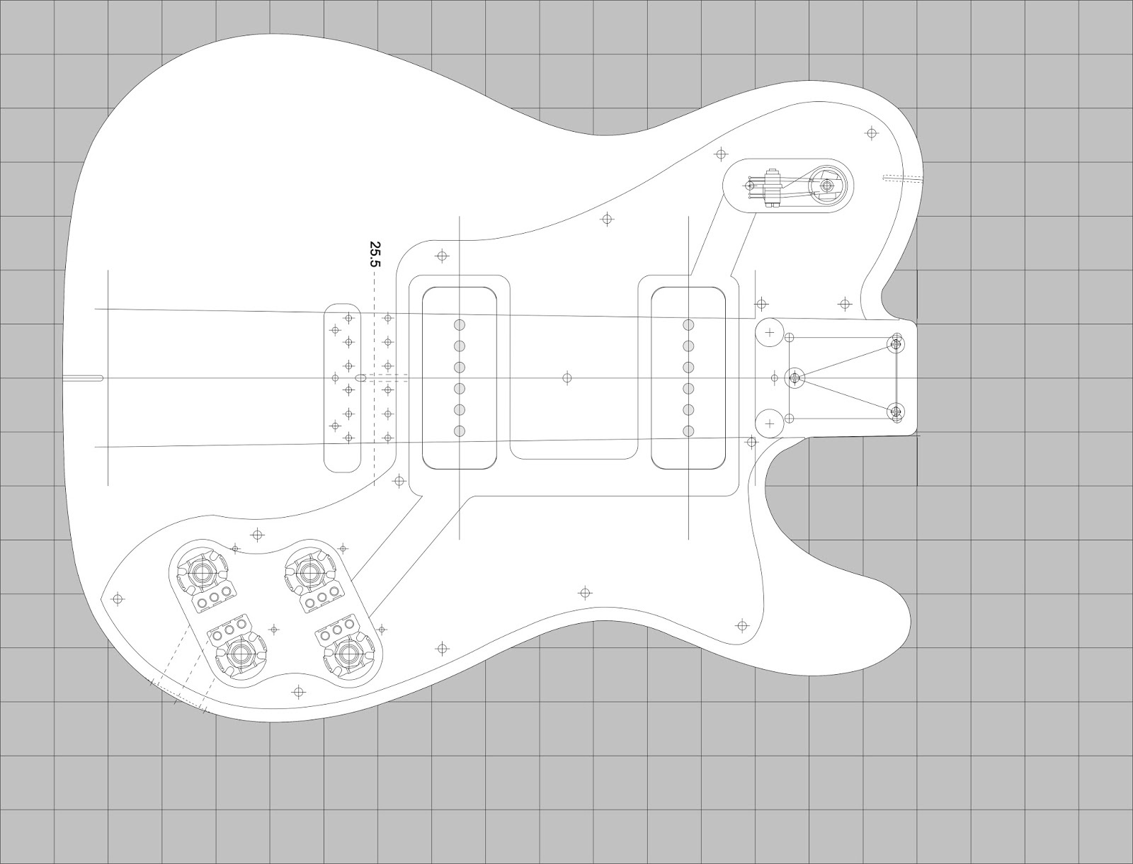 customizing project templates - build guitar