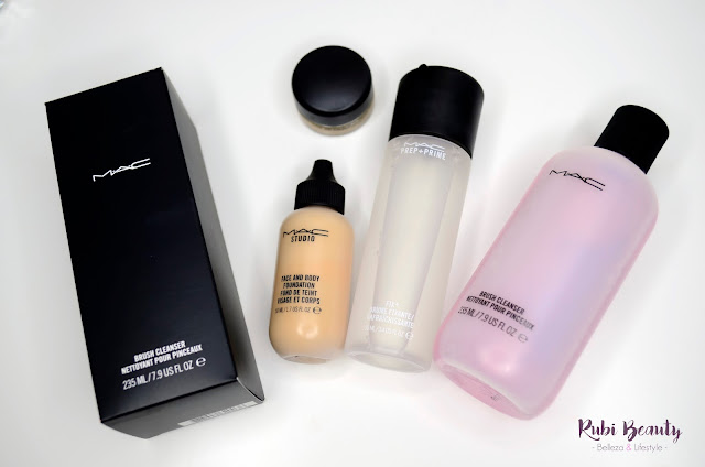 haul mac cosmetics face and body