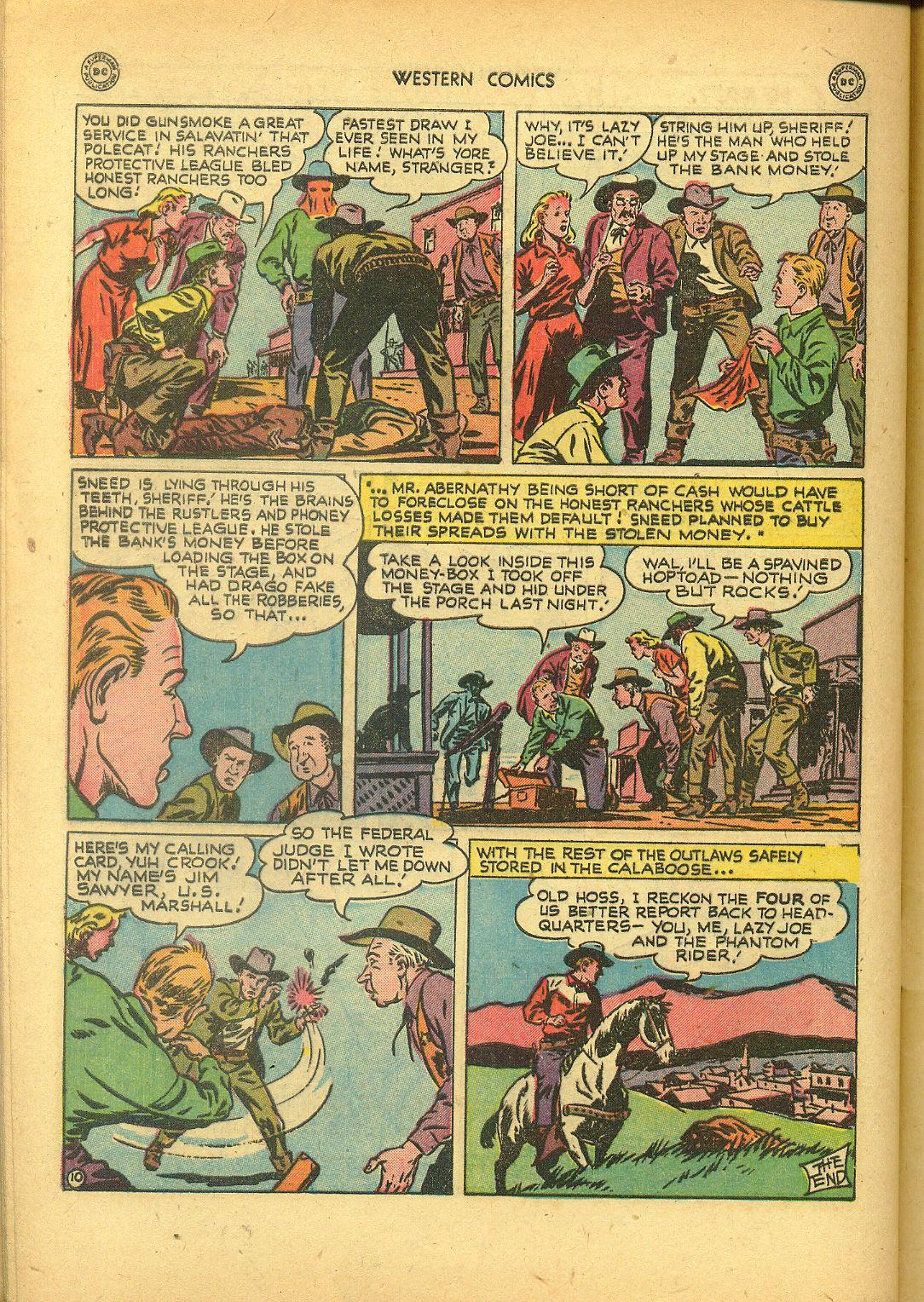 Comic Western Comics issue 8