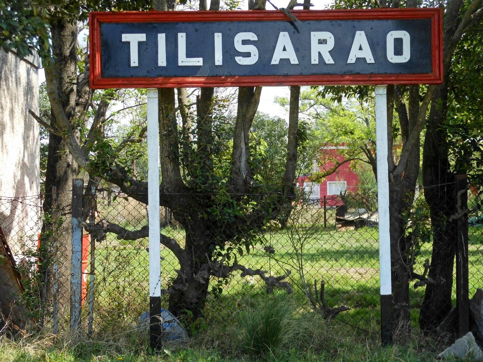 ARQUEOLOGÍA FERROVIARIA: Estación Tilisarao (FCA), San Luis, Argentina