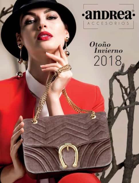 catalogo de bolsos y carteras Andrea Otoño Invierno 2018