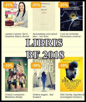 catalog oferte reduceri libris carti black friday 2018