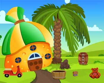 Juegos de Escape - Cat Rescue From Mushroom House