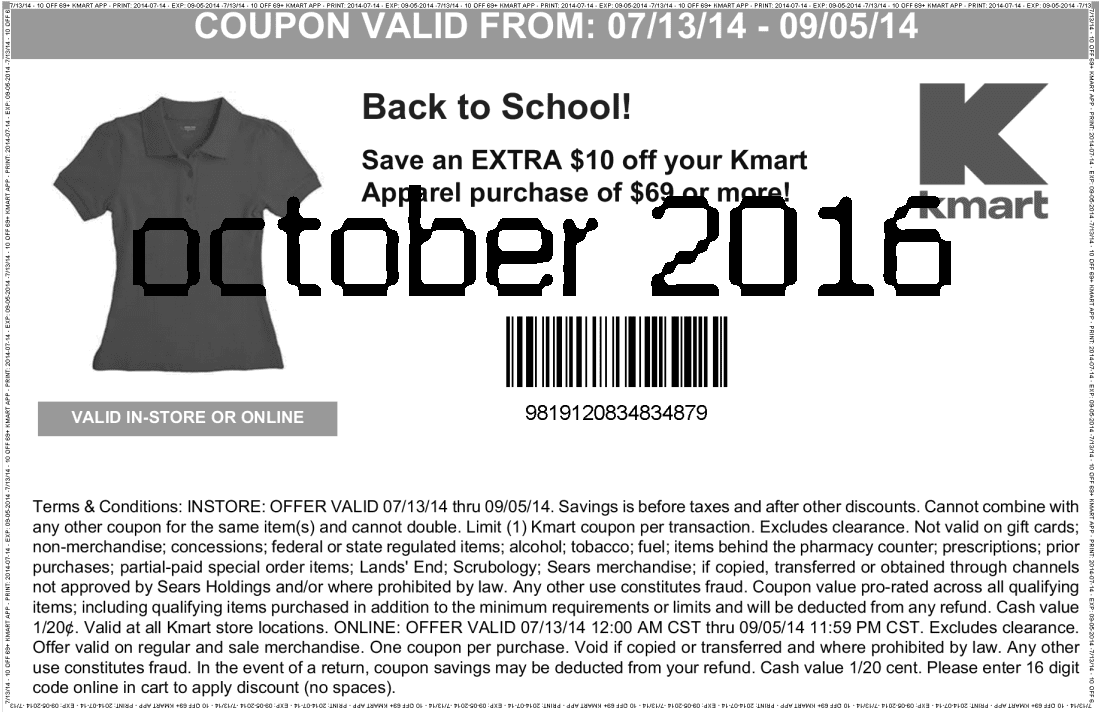It's just a photo of Transformative Printable K Mart Coupon