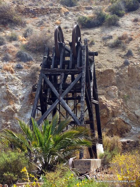 pozos minas mazarron