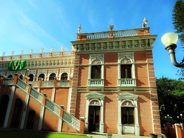 Palácio Rosado, no Centro Histórico, Florianópolis