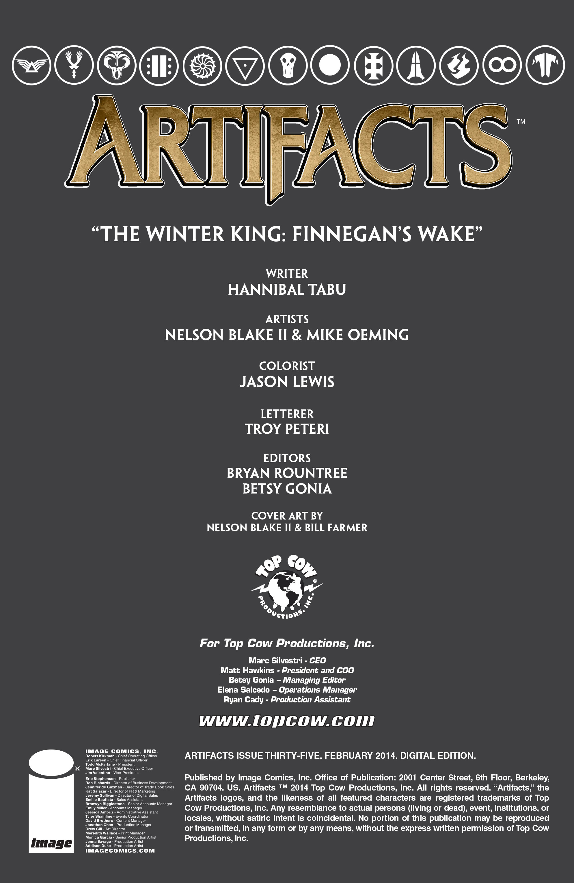 Read online Artifacts comic -  Issue #35 - 2