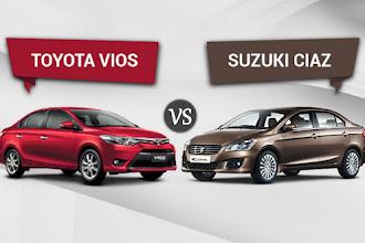 Suzuki Ciaz vs Toyota Vios - Battle to be the Best