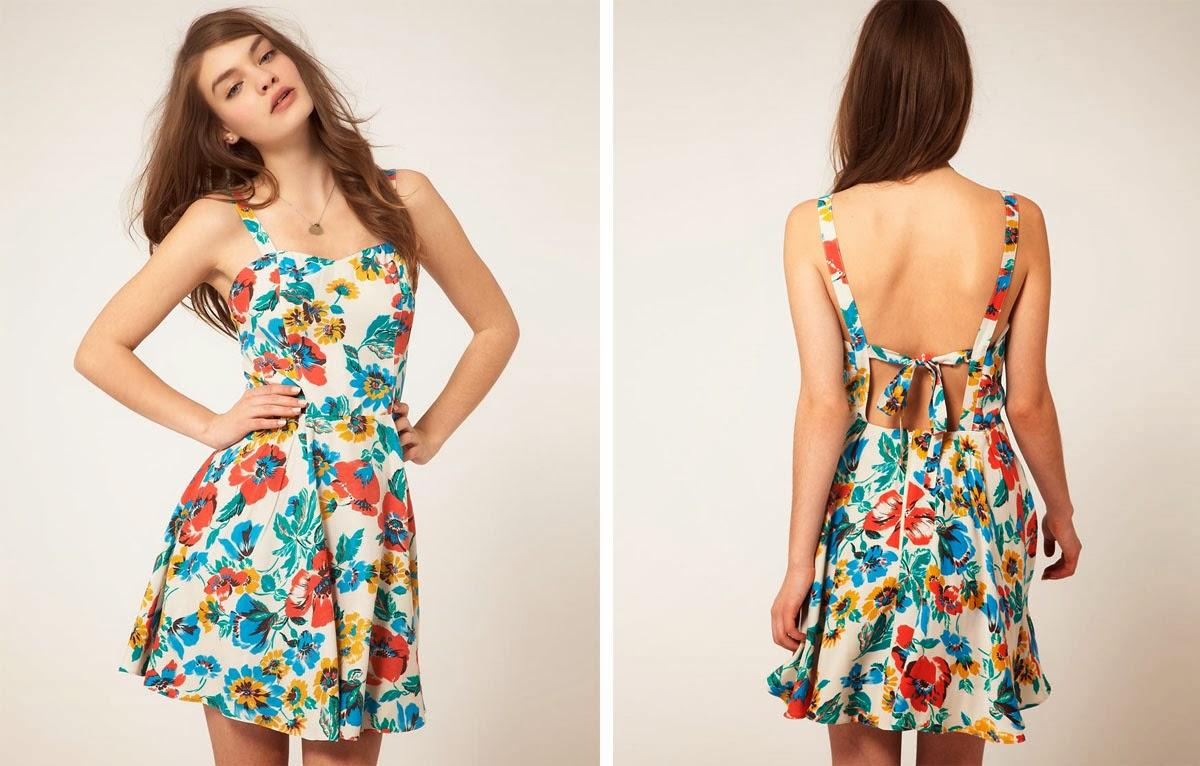 Vestidos sencillos para damas cortos
