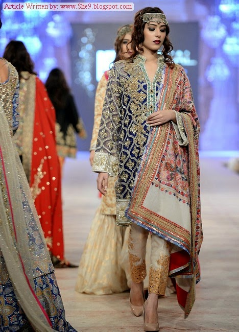 Zara Shahjahan Bridal Collection in PFDC L'Oreal Paris