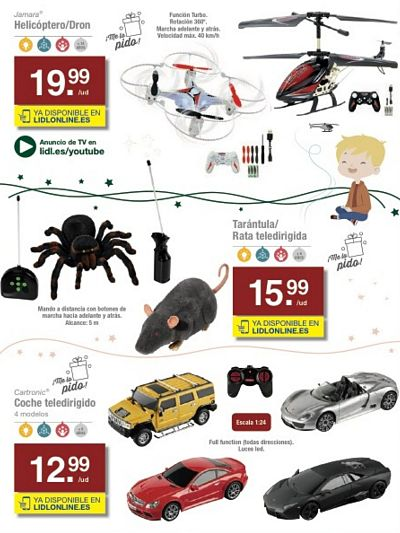 Drom - Helicoptero - tarantula teledirigida