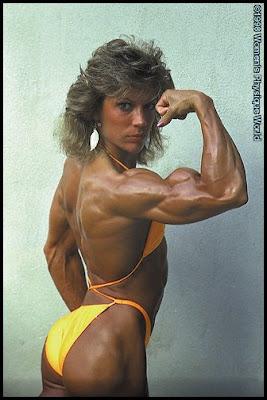 Muscular female bodybuilder lisa cross topless video - 1 2