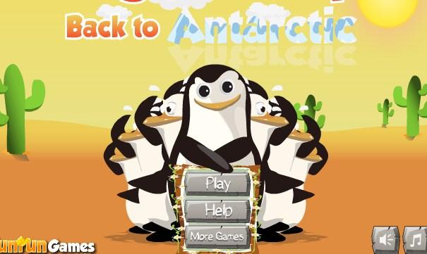 Penguin Escape Back to Antarctica - Penguins of Madagascar Game