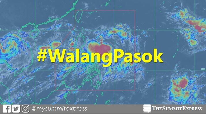 #WalangPasok: Updated list of class suspensions on Thursday, July 27, 2017